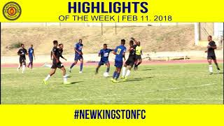 Swallowfield FC - 1 vs 0 - New Kingston FC- Jackie Bell Knock Out - FEB 11 2018
