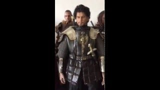 King Arthur movie 1/6 custom figures video