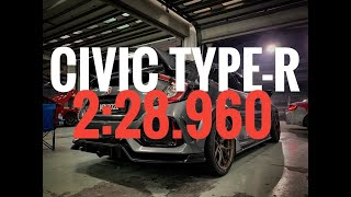LAP RECORD! Civic FK8 Type-R | 2:28.96