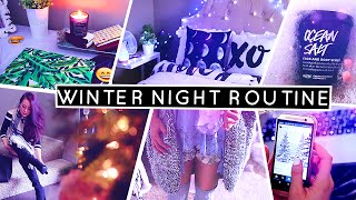 Winter Night Routine for School ☾ Lilisimply