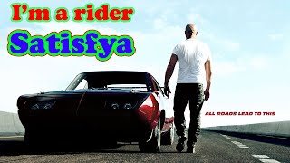 Imran Khan - Satisfya feat. Fast and Furious (Paul Walker)