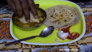 ASMR Eating Show Tinde Lamb Meat/Gosht and Roti | Lamb And Mutton (Food)| Delicious Indian Food