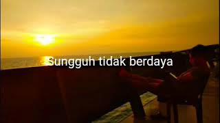 TERDIAM SEPI - Video lirik (Senja)