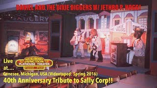 Sally Corp | Daniel and the Dixie Diggers with Jethro | Huckleberry Junction (Genesee, Michigan)
