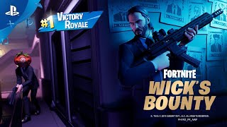 Fortnite: Wick's Bounty [Victory Royale]