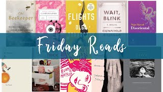 Friday Reads + The 2018 National Book Award for Translated Literature Longlist | 21.09.2018