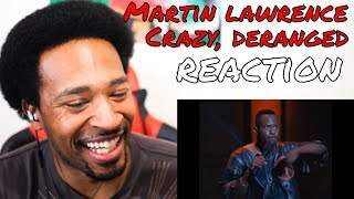 Martin Lawrence - You So Crazy (1993) Crazy Deranged REACTION - DaVinci REACTS
