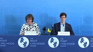 Announcement of the 2019 Right Livelihood Award Laureates