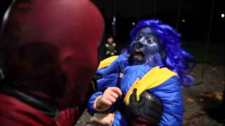 How Deadpool Spent Halloween with Cyclops  (Ayden Lim) and the Xmen superheroes