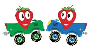 Strawberry Car | Video for Kids