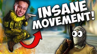 CS GO   Best of Pros MOVEMENT (Insane jumping skills, bhops, runboosts )