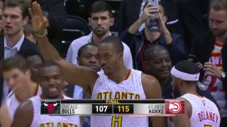 Atlanta Hawks win vs Chicago Bulls  Game Recap November 9, 2016