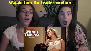 Foreigners Reacts to Wajah Tum Ho Trailer | Vishal Pandya | Sana Khan, Sharman l