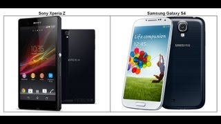 Samsung Galaxy S4 vs Sony Xperia Z - Specs comparison