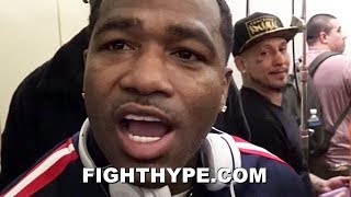 """(SHOTS FIRED!) ADRIEN BRONER RIPS KEITH THURMAN AND WELCOMES THE SMOKE: """"FIX HIS SPEECH IMPEDIMENT"""""""