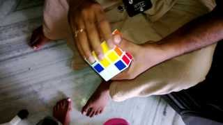 how to solve the rubik's cube with in 2:22