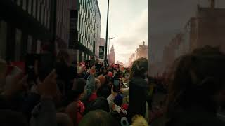 Liverpool champions League parade 2019 - Albert dock
