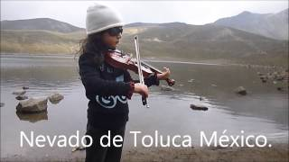 violinist 4 years old Mexico