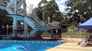 Diving Competition - Nick Jeffree 3m Springboard