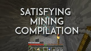 Relaxing and Satisfying Minecraft Mining Compilation