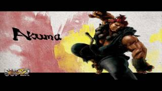 Super Street Fighter 4 Ryu vs Akuma theme extended