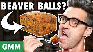 Christmas Nut (Testicle) Cake Taste Test