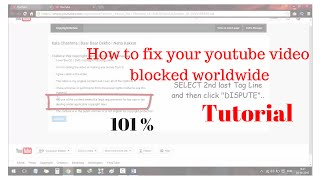 * NEW * How to upload video without getting Copyright or Blocked Worldwide 2016
