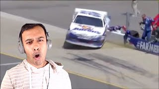 NASCAR Pit Road Incidents and Crashes(REACTION)