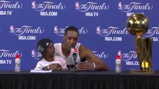 Postgame: Mario Chalmers | Spurs vs Heat | June 20, 2013 | Game 7 | NBA Finals 2013