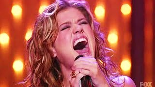 Kelly Clarkson - Since U Been Gone Live on American Idol: Christmas Special 2004 [HD]
