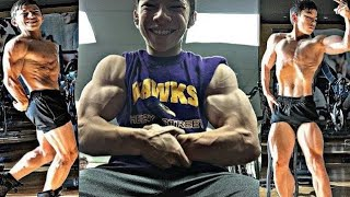 15 Year Bodybuilder/Muscular Kid/Tristyn Lee