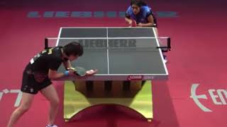 SUTHASINEE (Thailand)  VS  CHEN Meng (China) at Worl Championship 2019 , Hungary