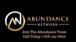 Abundance Network Review - Make Money Daily - Call 1-878-222-8606