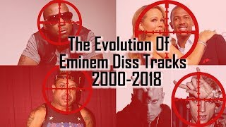 The Evolution Of Eminem Diss Tracks (2000 - 2018)