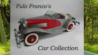 Teodoro F Franco Model Car Collection