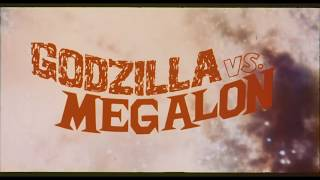 Godzilla Vs Megalon (1973) 35mm Trailer Scan