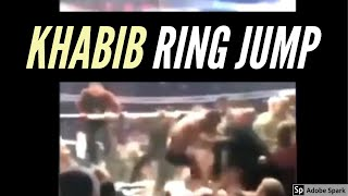 Khabib - RING JUMP [Crowd View]