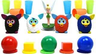 Learn colors with Furby and Tinker Bell Colors fo Kids
