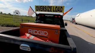 Loaded Schnabel Trailer Raising For Railroad Track[Helmet Cam POV]