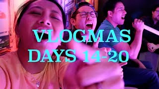 VLOGMAS DAYS 14-20 | More Parties! + Getting Ready to Go