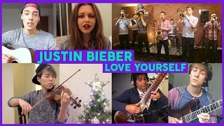 Justin Bieber - Love Yourself | Tribute Cover Compilation