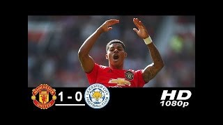Manchester United vs Leicester City 1-0 Highlights & Goals 2019 HD