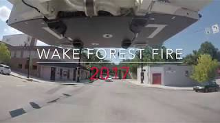 Wake Forest Fire 2017