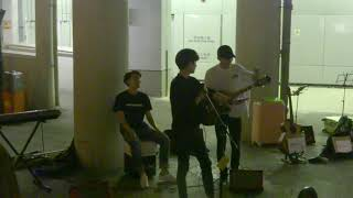 Korean Song + Wherever You Will Go (Cover by Acousticity) | Kowloon Tong Exit Busking 2018.10. 28
