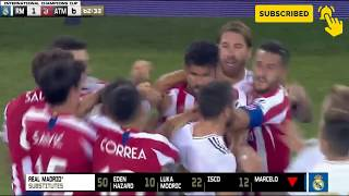 Real Madrid vs Atletico Madrid Goals & Highlights 27-07-2019