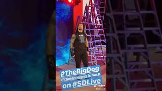 Roman Reigns is back  The Big dog