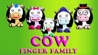 Cow Finger Family Song