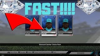 HOW TO GET YOUR DIAMOND CREATED PLAYER FAST / MLB THE SHOW 19 DIAMOND DYNASTY