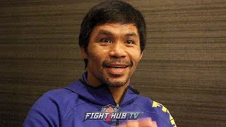 "MANNY PACQUIAO ""AMAZING I SURVIVED THAT MARGARITO FIGHT! NIGHT OF THE FIGHT I WAS 148LBS!"