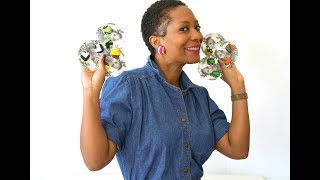 DIY Ankara Fabric Earrings